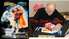 Chistopher Lloyd Signed Back to the Future 2 13x19 Poster PSA JSA Beckett COA