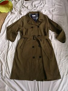 M/&S Classic PADDED /& QUILTED 3//4 Length COAT with Stormwear ~ Size 14 ~ EMERALD