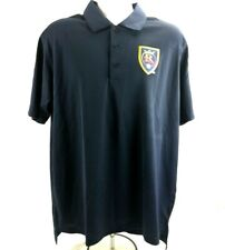 RSL Real Salt Lake Adidas Mens L Polo Shirt Navy Blue Golf Climalite SS MLS  BD