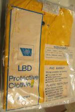 rainsuit LBD PROTECTIVE CLOTHING, PVC RAINSUIT, SAFETY COLOR, MEDIUM