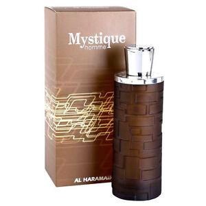 Mystique Pour 100ml Homme Spicy Floral with Mint Eau De Parfum by Al Haramain