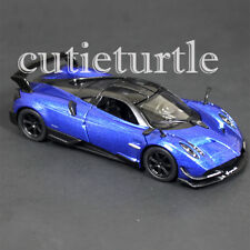 Kinsmart 2016 Pagani Huayra BC 1:38 Diecast Toy Car KT5400D Blue