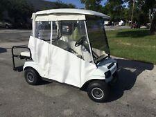 2004 white club car DS IQ 48 volt 4 passenger seat golf cart w new batteries