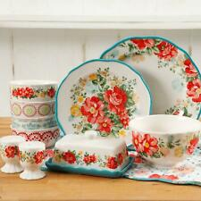The Pioneer Woman Vintage Ruffle Floral Dinnerware Set, 20 Piece