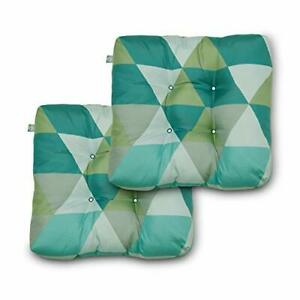 Duck Covers Water-Resistant 19 x 19 x 5 Inch Indoor Outdoor Seat Cushions Tre...
