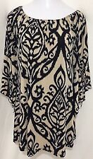 Women's Size Medium 2 B Together Los Angeles Tunic Long Top Polyester & Spandex