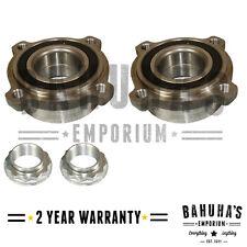 x2 REAR WHEEL BEARING & ABS FOR BMW 5-SERIES E61 6-SERIES E63,E64 04-10 *NEW**