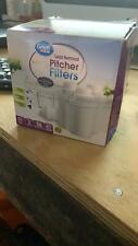 4 Pack Great Value Replacement Pitcher Filters Universal