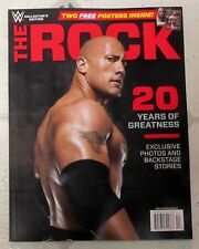 The ROCK WWE Magazine Special Edition 98 PAGES 20 Years Of PHOTOS + 2 POSTERS