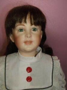 Vintage Vernon Seeley S-62 Jewel Eyes SFBJ 238 Doll Head Mold 1980