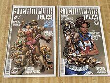 Steampunk Tales #1 - #2 by Chris Allen Brian Denham Ben Dunn (2015, Antartic)