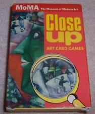 MoMA The Museum of Modern Art Close Up Art Card Games Memory Old Maid