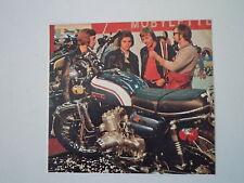 - RITAGLIO DI GIORNALE ANNO 1972 - MOTO SUZUKI GT 750