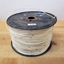 16 AWG Stranded Copper Wire, White, 3,000 Foot Roll - NEW