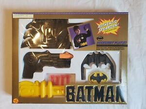 1989 Toy Biz Batman Accessory Playset in Box - RARE Factory Sealed Brand New