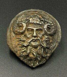 Ancient Near Eastern Bactrian Region Greek Bronze Pendant Jewelry Ornament