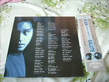 a941981 Leslie Cheung 張國榮 2015 12-inch Sample Promo Paper Jacket OBI Salute