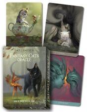 Oracle Fantasy cats nouveau jeu de cartes divinatoires neuf livret  en Français