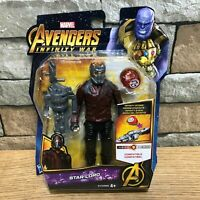 """MARVEL Avengers Infinity War 6"""" Starlord Action Figure with Infinity-Stone"""
