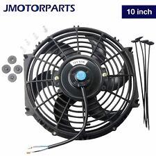 1PC 10 inch Universal Slim Pull Push Racing Electric Radiator Engine Cooling Fan