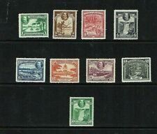 British Guiana: 1934. King George V Pictorial definitive, set to 50c Mint.