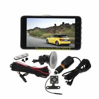 New 4'' HD 1080P Car DVR Dual Lens Dash Cam Video Camera Recorder Night Vision