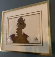 Walt Disney 1977 Pete's Dragon Elliott Animation Cel Movie Cartoon Vintage