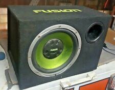 """Fusion 12"""" Sub Woofer in Ported Box"""