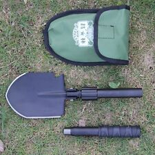 Camping Multi-function Folding Shovel Military Portable Survival Spade Trowel