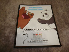 WE BARE BEARS, HURRICANE HAL 2018 Emmy & Annie Award ad from Cartoon Network