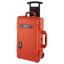 New Genuine OEM Orange Pelican™ 1510 Case empty no foam + Free nameplate