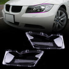 Front Left Right Headlight Lens Cover Fit For BMW E46 325i 330i 330xi 2001-2005