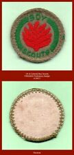 UK & Colonial Boy Scouts - 1947-1967 Boy Scout FIREMAN Proficiency Badge