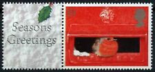 GB 2000, 19p Christmas MNH+Seasons Greetings Label From LS2 Smilers Sheet#D58086