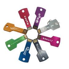 50LOT 8GB Custom Logo Metal USB 2.0 Flash Drive Printed Name/Logo Memory Stick