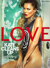 LOVE magazine no9 2013 KATE MOSS Cara Delevingne EDIE CAMPBELL Chloe Moretz