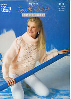 """KING COLE KNITTING PATTERN COWL NECK LADIES SWEATER IN CHUNKY 28"""" - 40"""""""