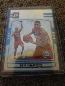 2016-17 Donruss Optic Rookie Kings Ben Simmons NBA Basketball card. ROOKIE CARD