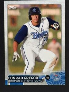 2015 Topps Pro Debut #13 Conrad Gregor - NM-MT