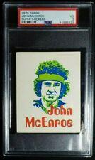 1979 Panini Super Stickers John McEnroe Rookie Sticker RC PSA 3 Rare! Tennis HOF