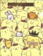 Sanrio Pom Pom Purin Folder Portfolio Side Open Friends