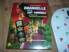 Emanuelle and the Last Cannibals Blu-ray+CD SEXY Laura Gemser HAPPY HALLOWEEN
