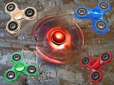 Hand Spinner in Acciaio/Metallo 4 Cuscinetti Abec 7
