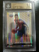 ZION WILLIAMSON #55/199 NBA ROOKIE 2019 PANINI CYBER MONDAY FOIL #RC1 BGS 9.5