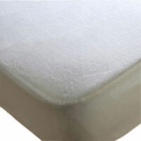 Cot Bed Terry Towel Waterproof Mattress Protector Fitted Sheet Bed Cover