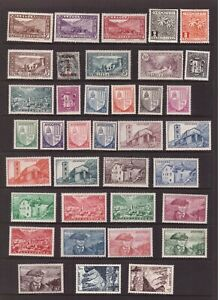 Andorra FR mint hinged stamps selection