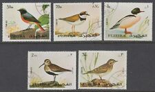 Fujeira 1972 Mi.1356/60 A used c.t.o. Vögel Birds