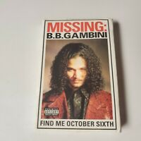 Bizzy Bone Promo Cassette Tape B.B. Gambini Snippet Bone Thugs Ruthless 1998 bb