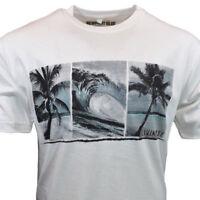 NEWPORT BLUE Mens Tee T Shirt S M L XL Hawaiian Surfing Surf Beach 100% Cotton