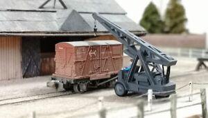 N Gauge 1:148 BCC A3D025 Ransome & Rapier Mobile Yard Crane Ready to plant